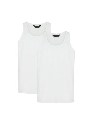 Penti Optik Beyaz Basic Regular 2Li Atlet Beyaz